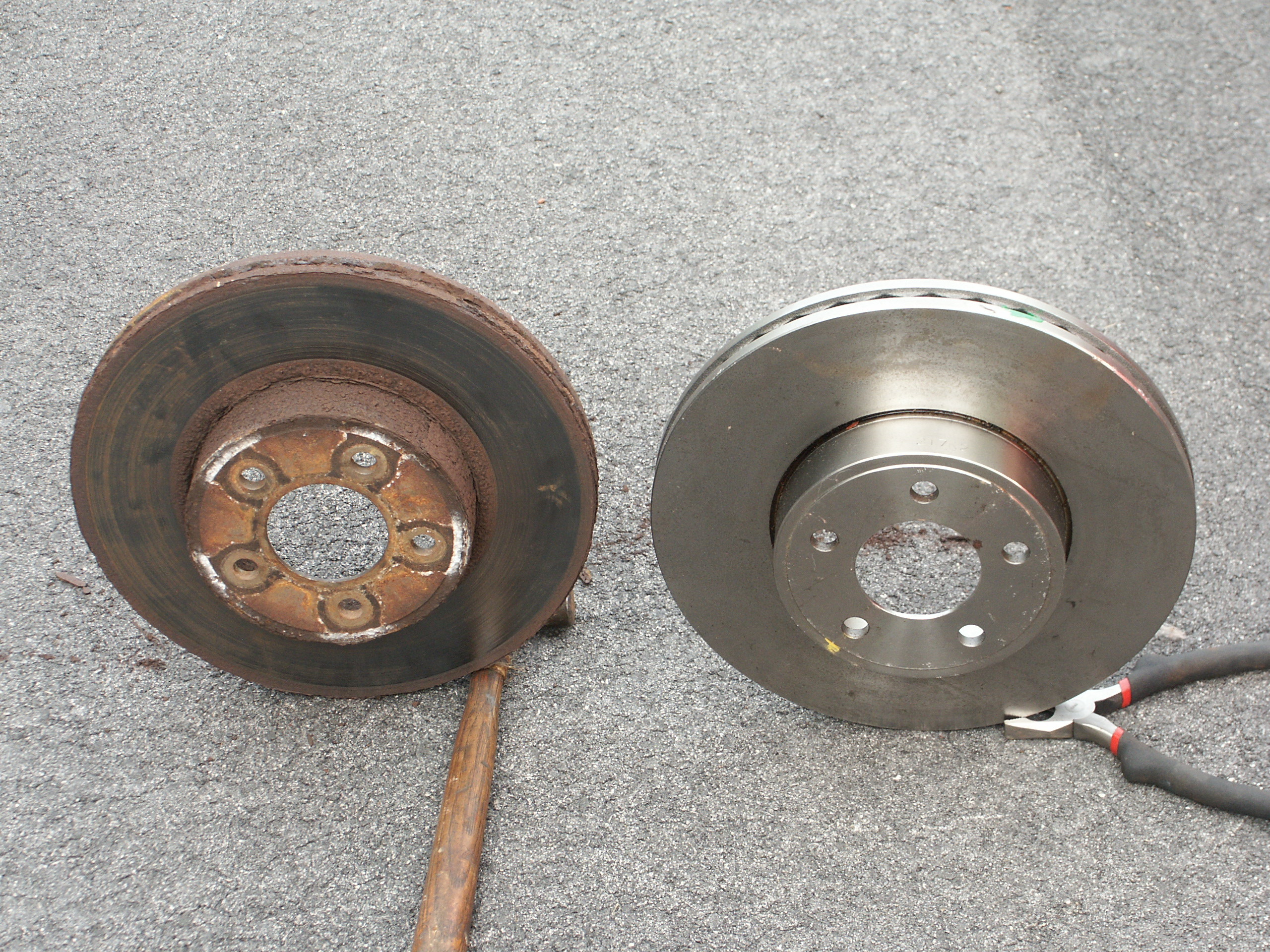 Rusty Ford Brake Rotor Pictures