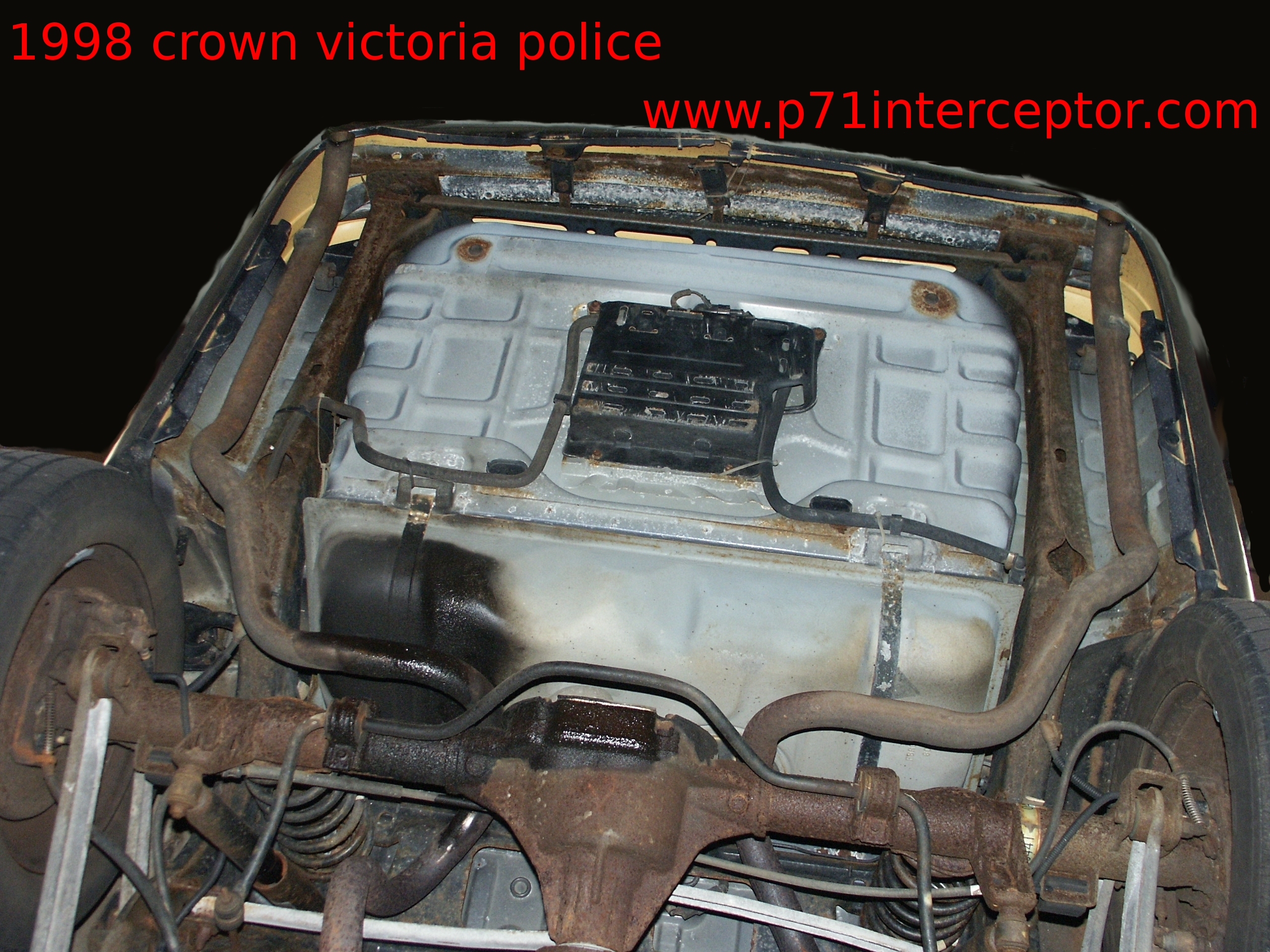 Ford Crown Victoria Exhaust Hanger Replacement