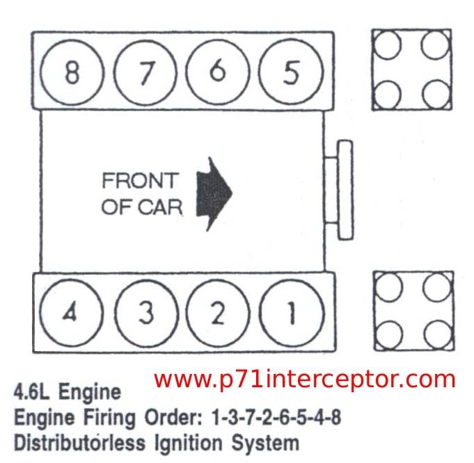 firing order diagram ford f150 4 6l v8
