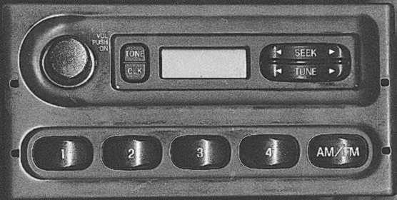 Ford crown victoria stereo radio installation tidbits the stock radio in my 98 interceptor note the lack of tape deck or cd player sciox Image collections