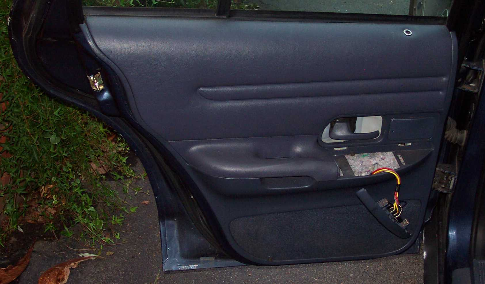 Ford Crown Victoria Police Interceptor P71 Rear Door Parts