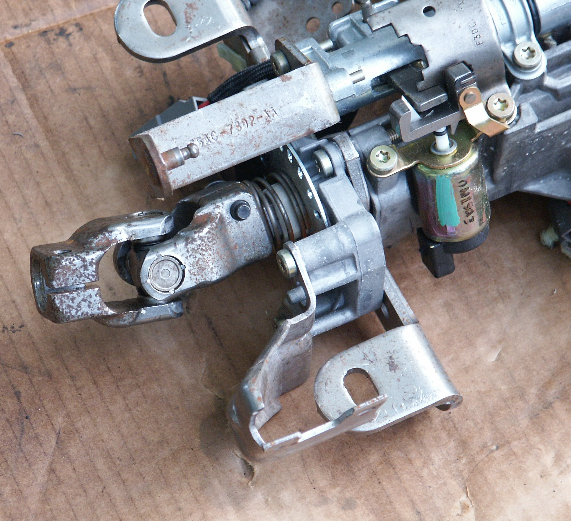 Ford Crown Victoria Steering Column Part Pictures