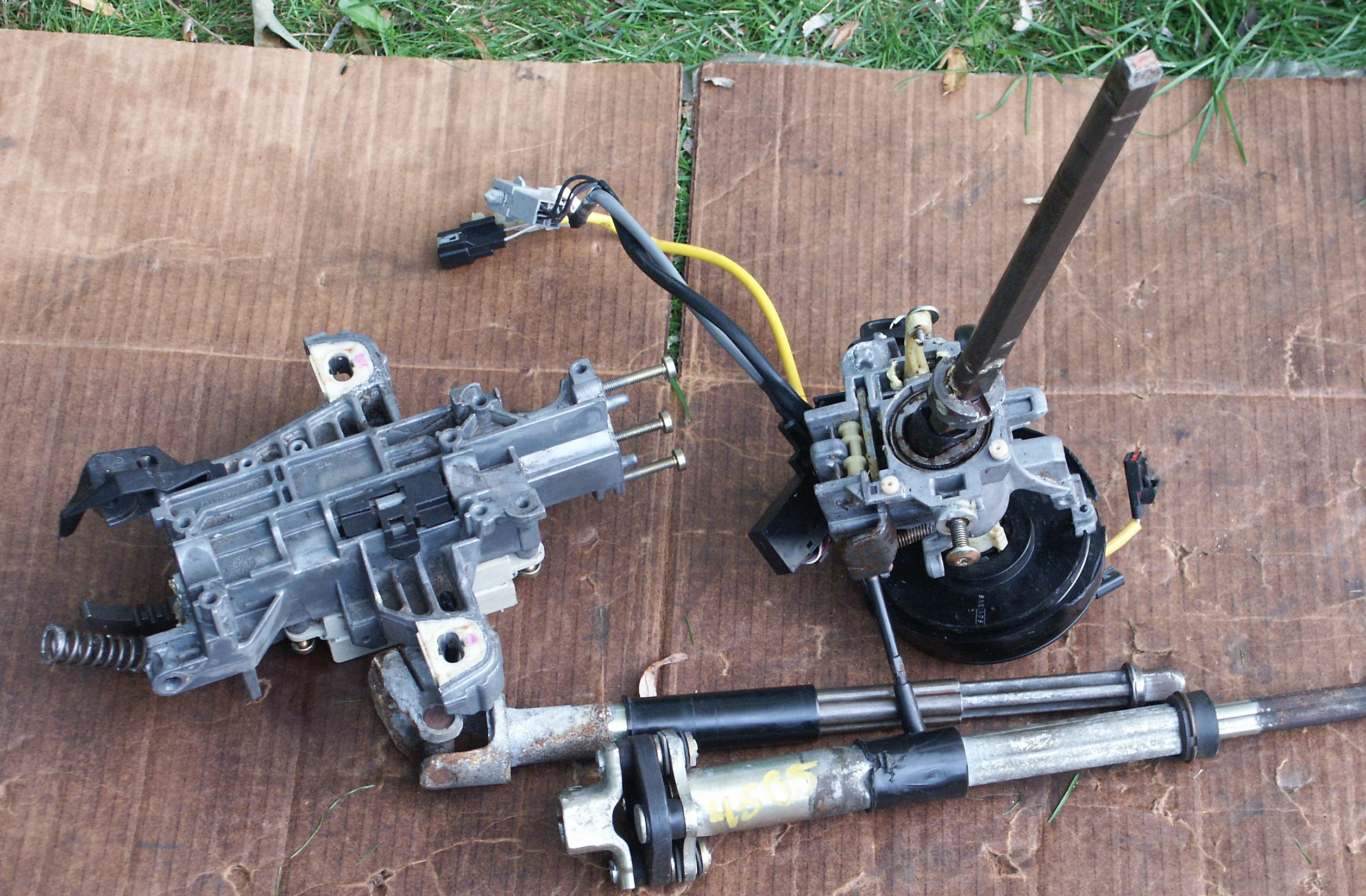 1995 Mercury Grand Marquis >> Ford Crown Victoria Steering Column Part Pictures