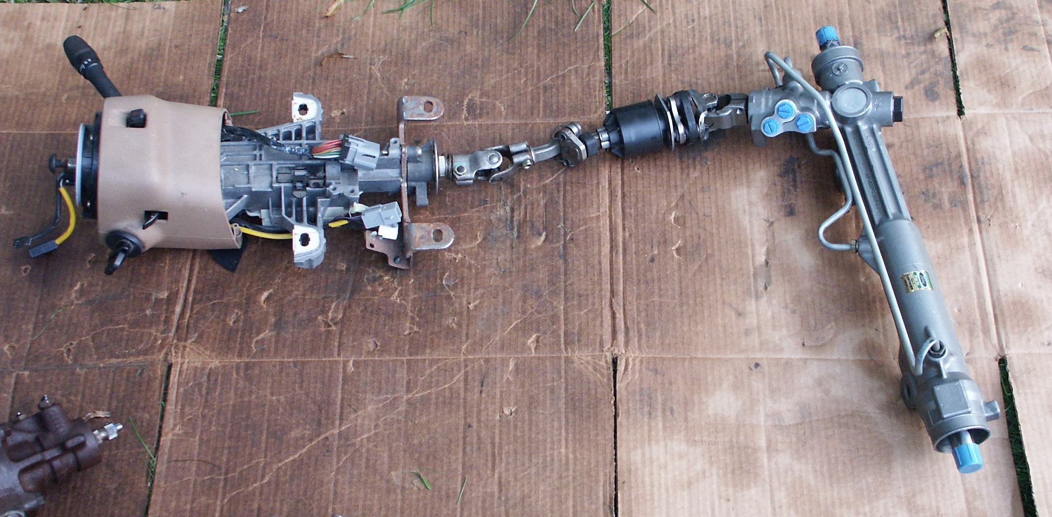 Ford Steering Column : Ford crown victoria steering column part pictures