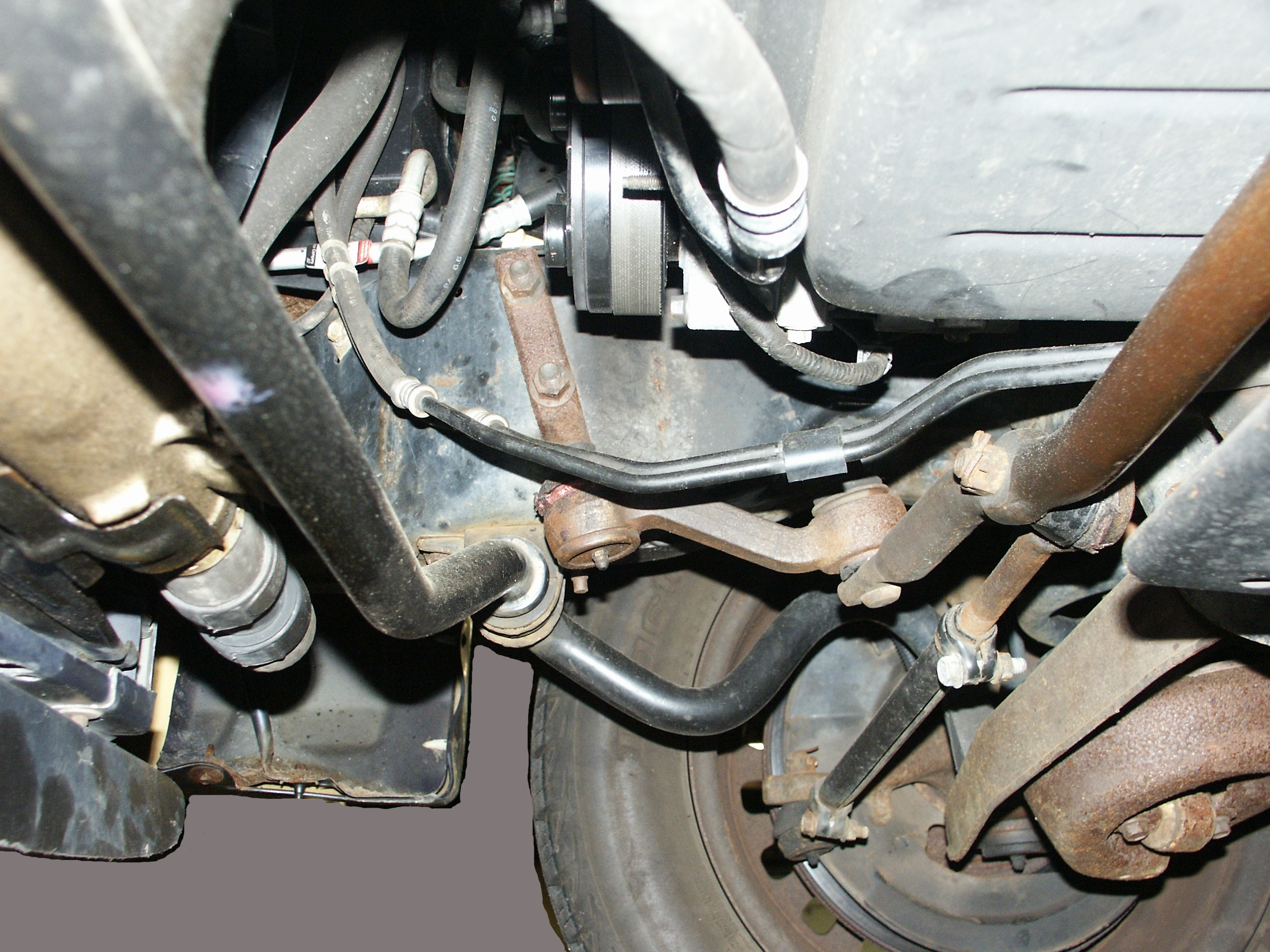 Ford Crown Victoria Idler Arm Replacement