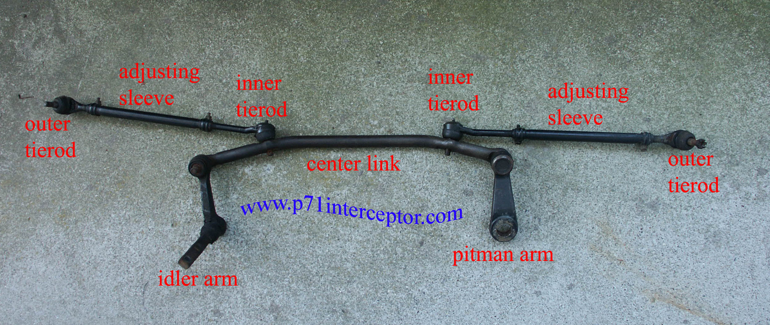 Ford Crown Victoria Steering Parts