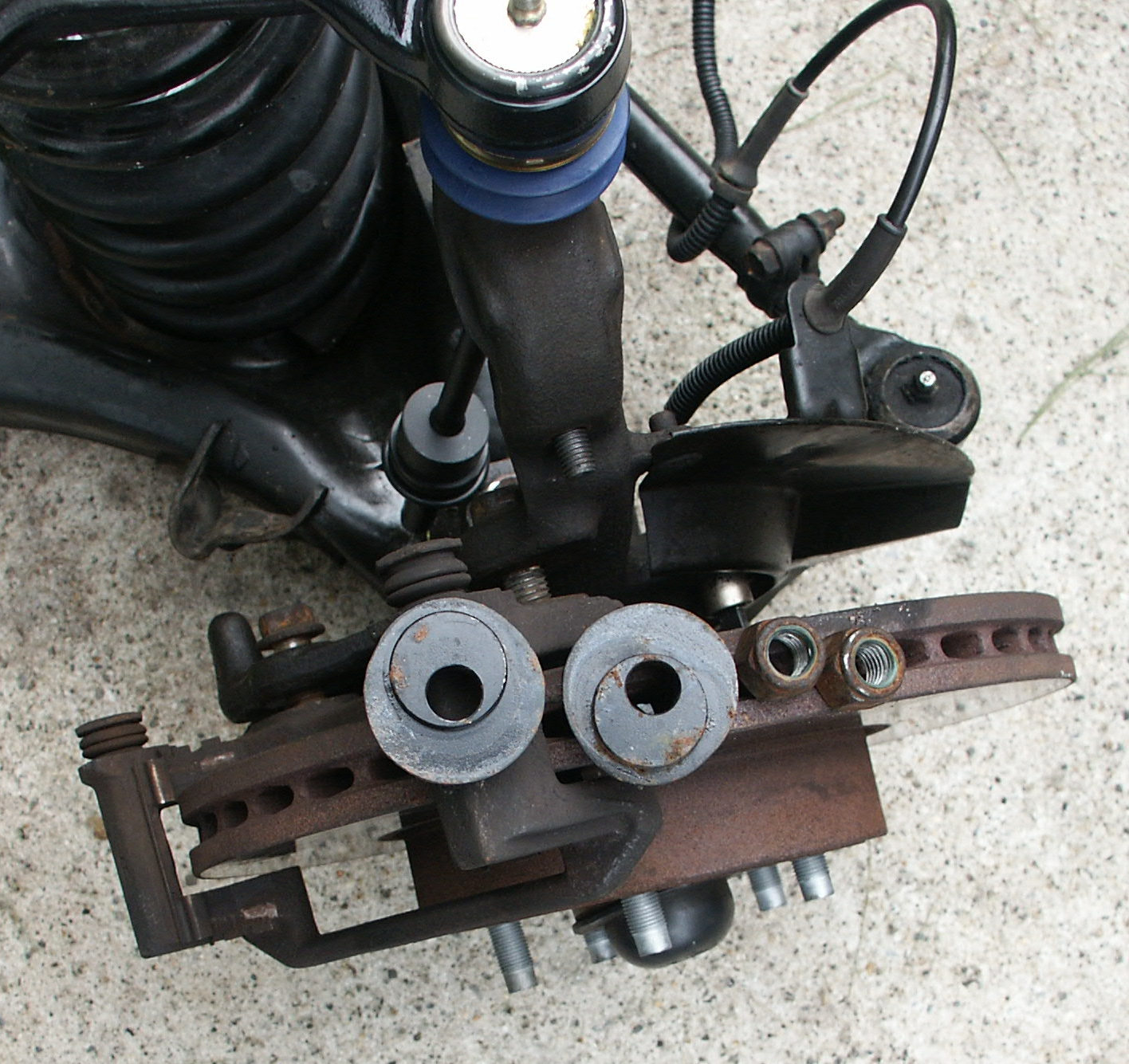 Ford Crown Victoria Camber Caster Adjustment