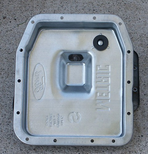 Ford 4R70W UHaul Transmission Pan Pictures