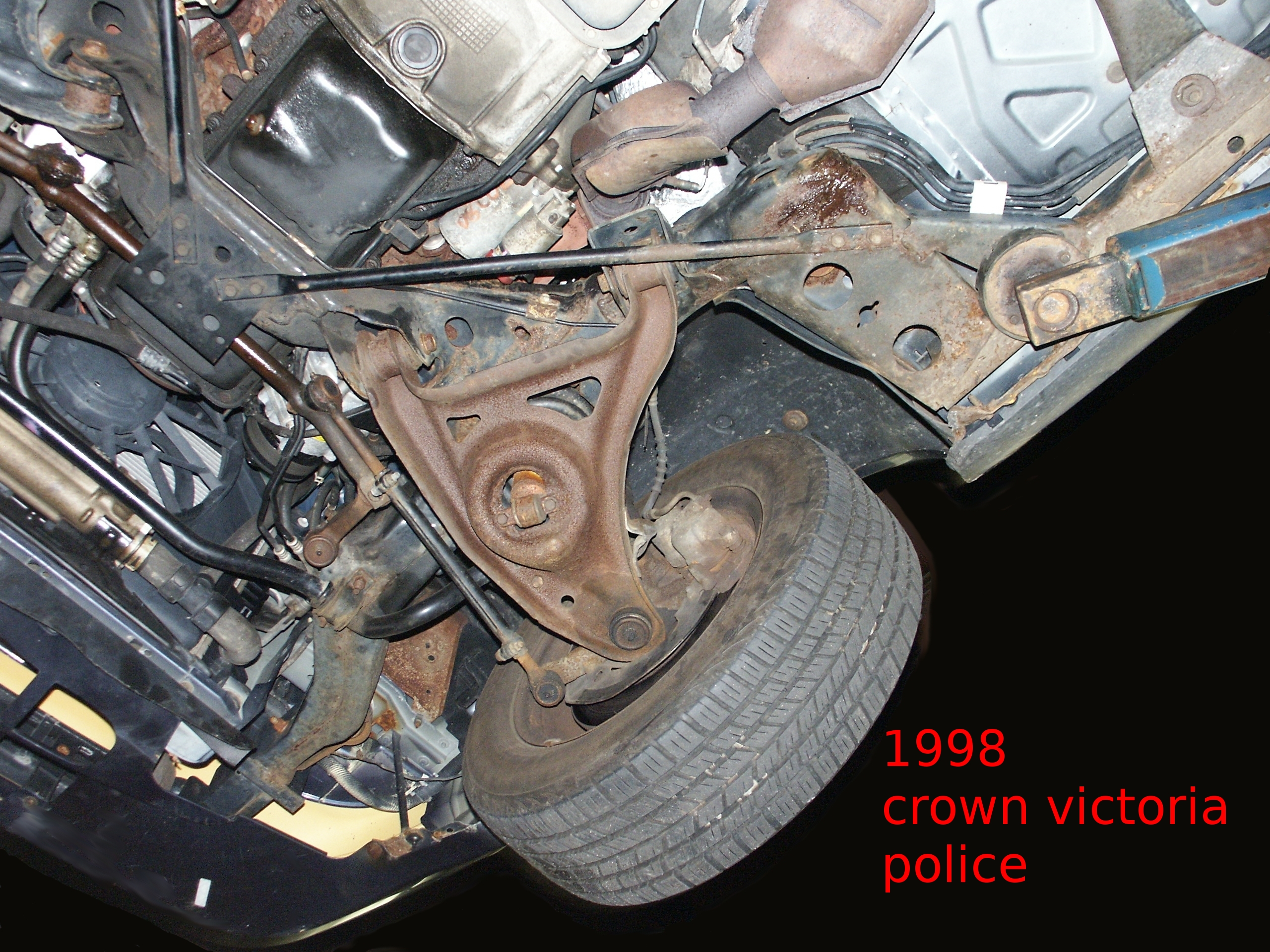 Ford Explorer 1998 >> Ford Crown Victoria Undercar Picture Scrapbook