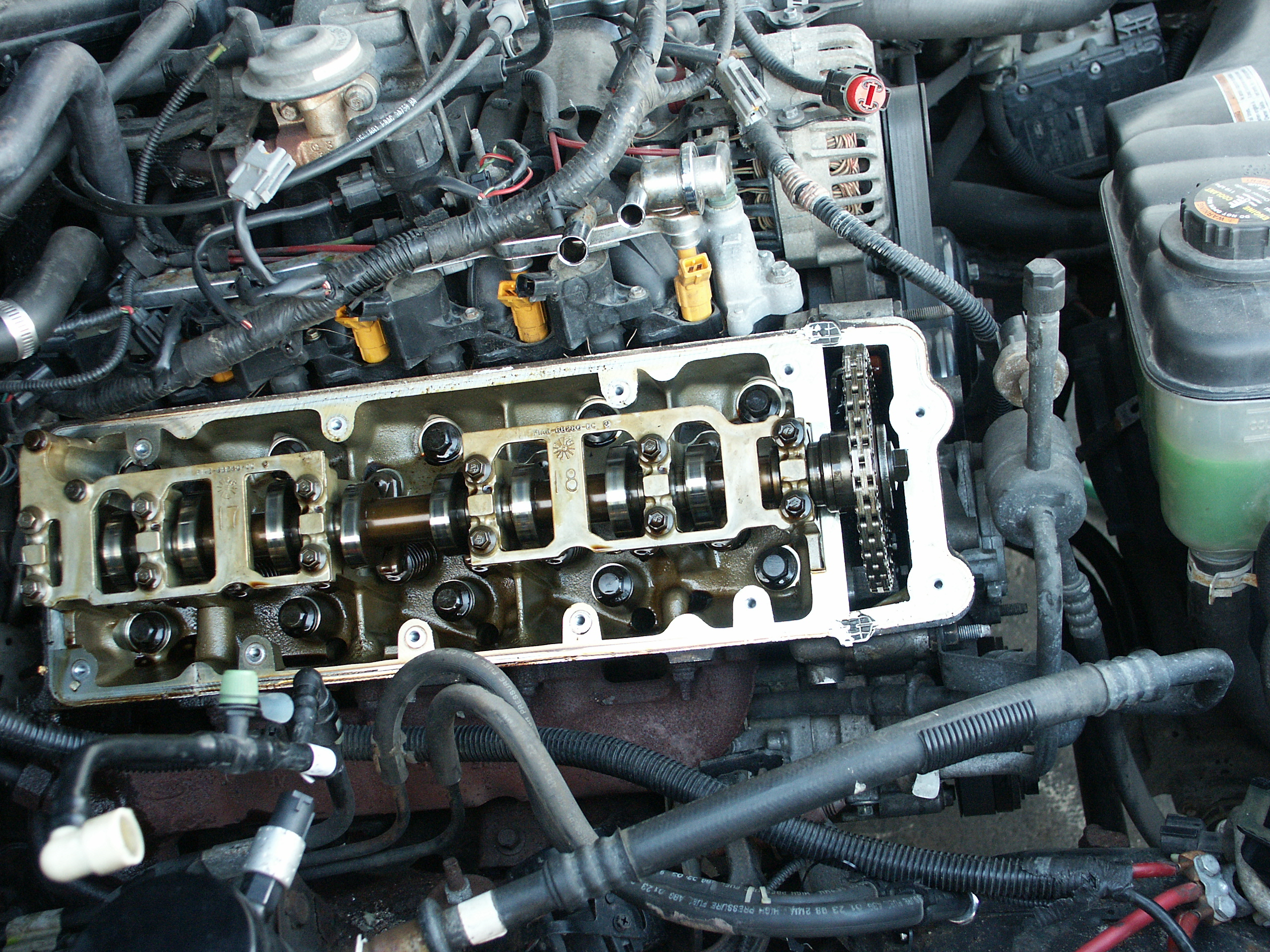 ford crown victoria passenger side valve cover replacement 2000 Lincoln  Town Car Engine Diagram Lincoln Town