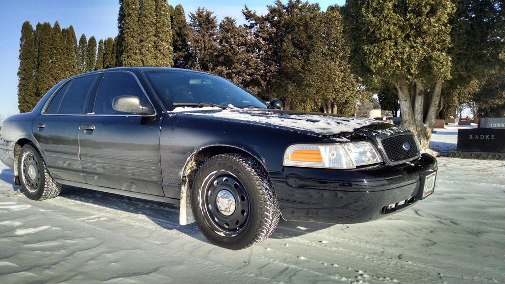 Crown Victoria P From The Forest Lake Pd Grey Black Cloth Interior Xgovernmentcars Paint Job  Miles Smoked Tint Front And Rear