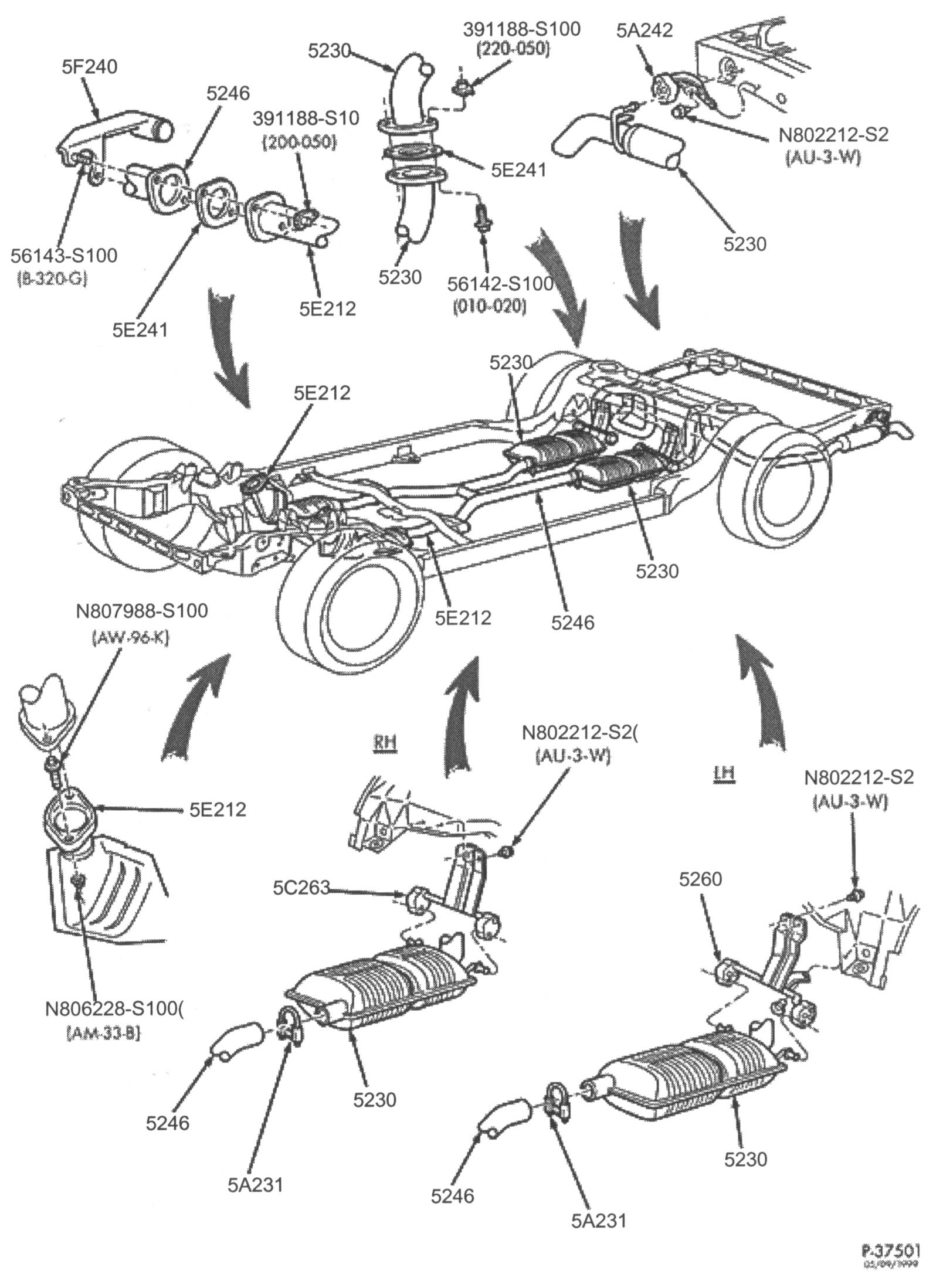 Ford Crown Victoria Parts Diagram Wiring Electricity 1993 Diagrams Police Interceptor Exhaust Rh Pantherbb Com
